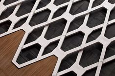 Antonio Munohierro + Esrawe Studio: The Countess Square pattern. 3d Pattern, Shape Patterns, Textures Patterns, Pattern Design, 3d Texture, Texture Design, Design 3d, 3d Home, Parametric Design
