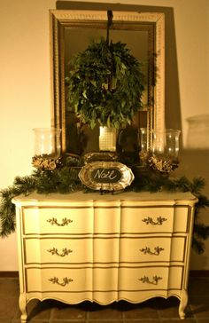 French Country Cottage Christmas Decor | Cecilia Rosslee ... | Christ ...