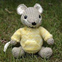 We Like Knitting: Pocket Mouse - Free Pattern