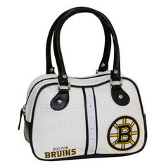 Perfect for stylish sports fans, this durable tote features a subtle yet spirited NHL emblem, dual handles and a full-length zipper. It makes a terrific tailgating accessory. Boston Bruins Hockey, Boston Sports, Luggage Sets, North Dakota, Patriots, Purses And Bags, Calves, Medium, Fans