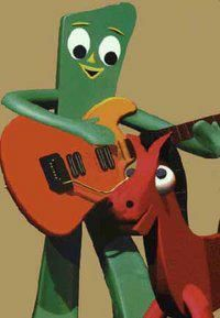 Gumby and Pokey I had the toys the next generation had the show lol