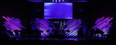 Destroyed Angel Wings | Church Stage Design Ideas