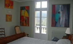 #frenchmaison #rentalproperty #villa #provence #france #holiday #bedroom