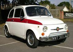 Restored 1970s Fiat 500L car on eBay