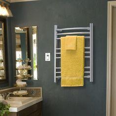 WarmlyYours Riviera hardwired towel warmer