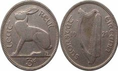 On this page, we will tell you all about the Irish 3 Pence coin minted between the years Identifying Coins, Irish Free State, Penny Coin, Coin Values, Coin Grading, Metal Detecting, Coin Collecting, Told You So, Mint