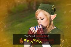 Lady Link - You played Epona's Song. by Samii-Doll.deviantart.com