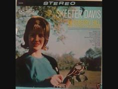 """Skeeter Davis """"The Little Music Box"""", #22 on the Country music charts in 1962"""