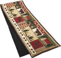 DII Log Cabin Tapestry Table Runner DII http://www.amazon.com/dp/B003VIVFHU/ref=cm_sw_r_pi_dp_VIb5wb1FZ8ASY