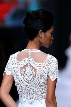 Shinta Dewi Spring-Summer Womenswear - Fashion Week ( USA - look Jakarta Fashion Week, Business Fashion, Women Wear, Spring Summer, Lace, Usa, Racing