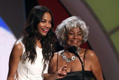 Uhura x2 - is it just me, or is the original hotter?