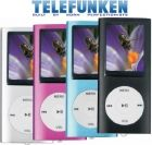 TELEFUNKEN 4GB MP34 PLAYER - Blue (TMP-444BL)