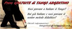 Prove Gratuite Tango Argentino Primi passi