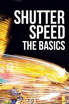 Shutter speed - the basics   Bella Pop
