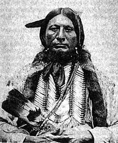 Crazy Horse/Tashunka Witko, Oglala:  We did not ask you white men to come here. The Great Spirit gave us this country as a home. You had yours. We did not interfere with you. The Great Spirit gave us plenty of land to live on, and buffalo, deer, antelope and other game. But you have come here; you are taking my land from me; you are killing off our game, so it is hard for us to live. Now, you tell us to work for a living, but the Great Spirit did not make us to work, but to live by hunting.