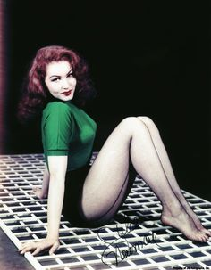 Julie Newmar...right up there with Sophia!