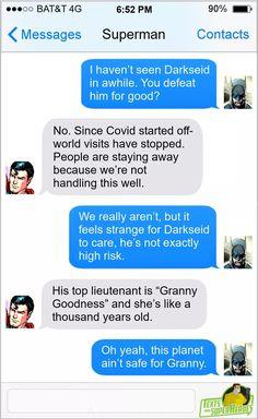 Marvel Jokes, Marvel Funny, Marvel Dc Comics, Batman Meme, Batman Universe, Dc Universe, Dc Comics Funny, Superhero Texts, Funny Text Conversations