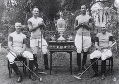 british raj- one of the very first British polo teams, established in 1868 by members of a mountain battery in Manipur on Indian's North East Frontier. Local people taught the artillery officers the game.