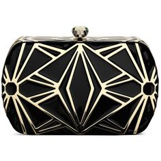 Bulgari Art Deco style clutch