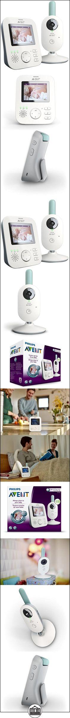 Philips Avent SCD620/01 - Vigilabebés con cámara, alcance de 300 m, pantalla LCD de 2.7 pulgadas, color blanco  ✿ Vigilabebés - Seguridad ✿ ▬► Ver oferta: http://comprar.io/goto/B01F6ZEU2C