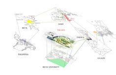 Macro-Micro Siting / Site Statement / Maps / Architectural Presentation / Architectural Thesis, Architectural Presentation, Natural Science Museum, Urban Analysis, Macro And Micro, High Rise Building, Diy Crafts Hacks, Architecture Student, Science And Nature