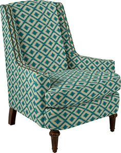 CAN YOU BELIEVE THIS IS LA-Z-BOY!?   Arianna Stationary Occasional Chair by La-Z-Boy  Customize yours at La-Z-Boy.com