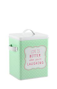 GRAPHIC PASTEL LAUNDRY POWDER HOLDER