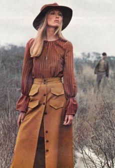 70-е: цветочные мотивы, буйство красок и большие перемены
