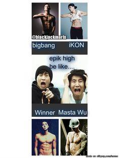 YG boys abs....