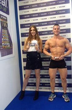Stefano e Eleonora: proteine in polvere Mirabol e barretta Promeal Protein 50%