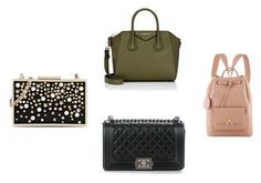 """basic bags"" by mvasileva on Polyvore featuring мода, Givenchy, Karl Lagerfeld и Chanel"