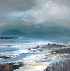 Shoreline h. 40 x w. 40 cm acrylic