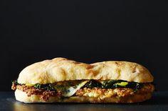 Fried Cauliflower Sandwich, a recipe on Food52