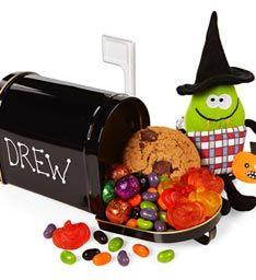 Personalized Halloween Mail Box + Treats