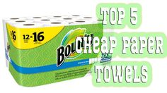 5 Best Cheap Paper Towels 2016