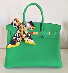 06adb5a549f4 I am selling this 35cm Bamboo Togo Leather Hermès Birkin