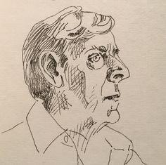 Portret van een man. Januari 2016