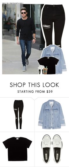 """""""Untitled #497"""" by deerches ❤ liked on Polyvore featuring Topshop and Acne Studios"""