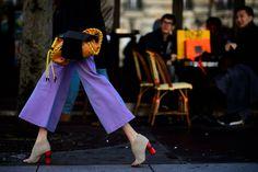 Paris Fashion Week Fall 2016 Street Style, Day 4 - -Wmag