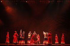 """Carmem Romero Dança Flamenca, de Curitiba, com a coreografia """"Desafio"""". Crédito: Aurea Silva"""