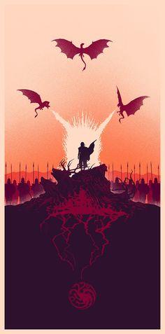 Game of Thrones - Daenerys Targaryen by Marko Manev *