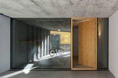 Beton Haus-moderne Innenarchitektur-Porto