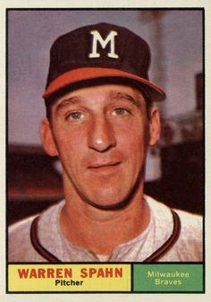 1961 Topps Warren Spahn