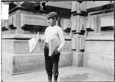 Timeline of the Newsboy's Strike Lewis Hine, Timeline, History, Chicago, Banner, Banner Stands, Historia, Banners