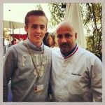 frederic anton and my son Brice