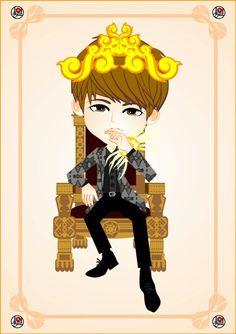 King NamSTAR #Woohyun fanART