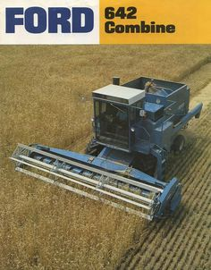 FORD 642 Combine Ad