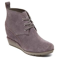 Rockport Total Motion Wedge Desert Boot 80mm found at #OnlineShoes