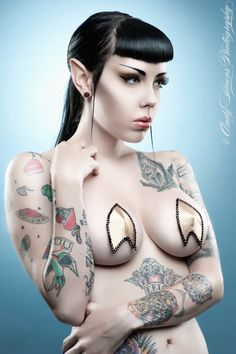 The original Trek inspired pasties.  Cool yet somehow disturbing.