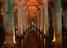 Underground Cistern Istanbul  www.exoticdestinations.com.au